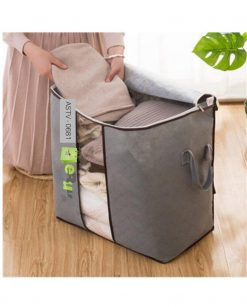 Folding Organizer Clothing Storage Bag Window & Zipper (Pack Of 4) At Best Price In pakistan