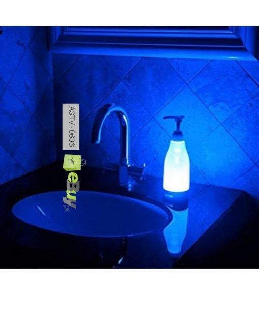 Glowing light soap bottle dispenser At Best Price In Pakistan
