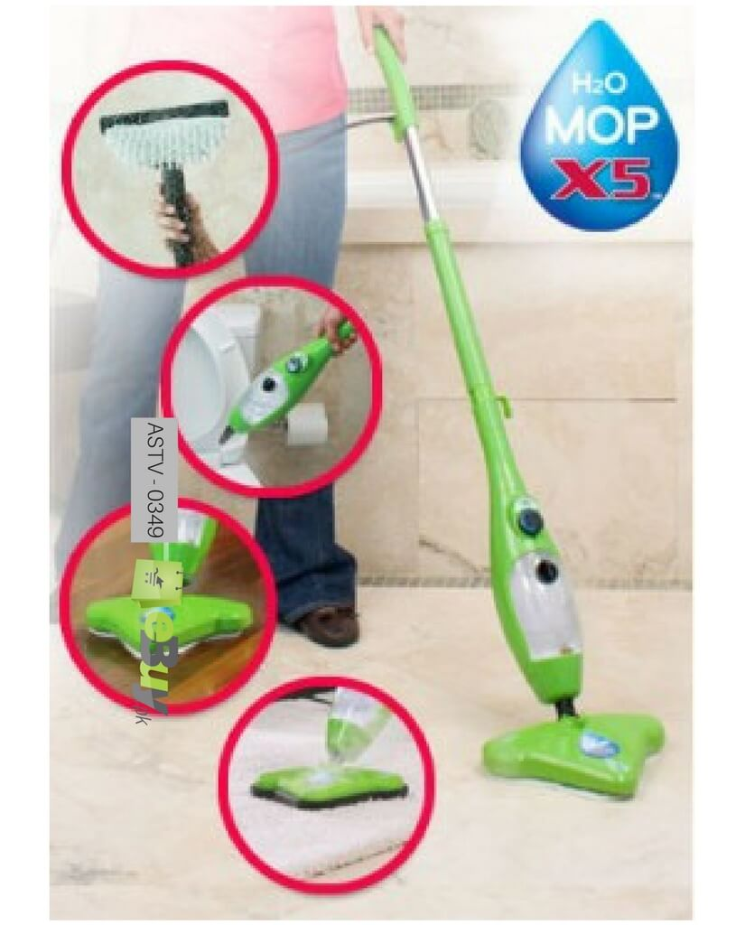 Buy H2o X5 Mop 5 In 1 Portable Steam Mop Online In