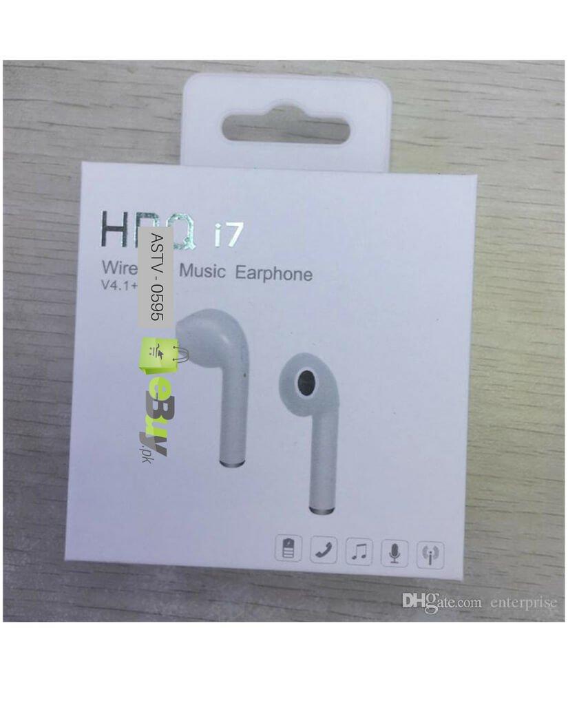 Buy Hbq I7 Wireless Bluetooth Earphone Single Earbud Online Ebuy Pk