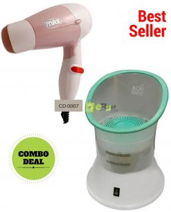 Hair Dryer & Facial Steamer Pack of 2 Online in Pakistan
