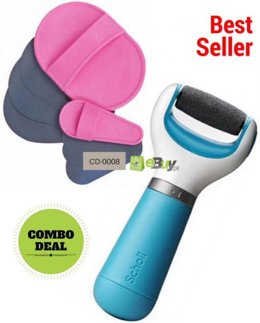Hair Removal Pads & Electronic Foot File in Pakistan