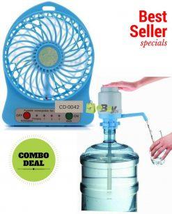 Handheld Portable Fan & Water Pump Online in Pakistan