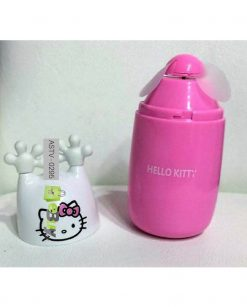 Hello Kitty Rechargeable Fan - Pack Of 2 Online in Pakistan 3