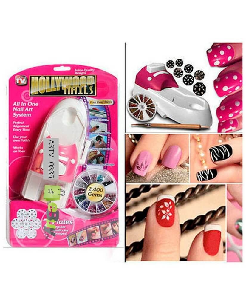 Buy Hollywood Nails All In One Nail Art Kit Online In Pakistan