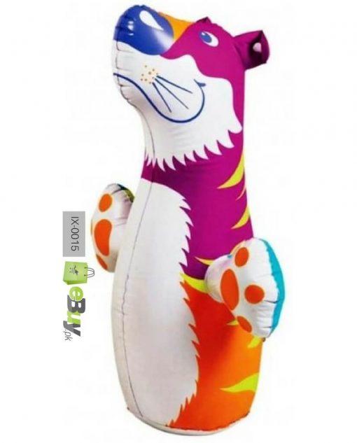 Intex 3d Bop bag blow up inflatable tiger Online in Pakistan