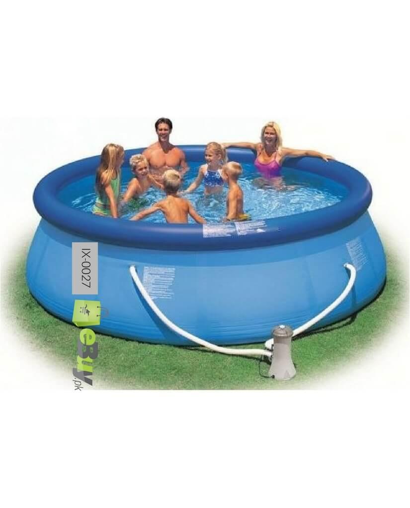 Buy intex easy set pool online in pakistan for Intex swimming pools prices in pakistan