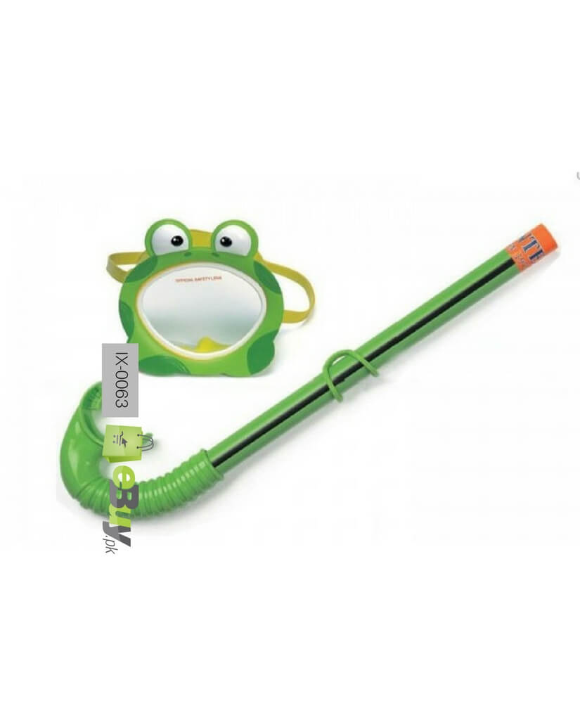 Buy Intex Frog Swimming Goggles Snorkel Online In Pakistan