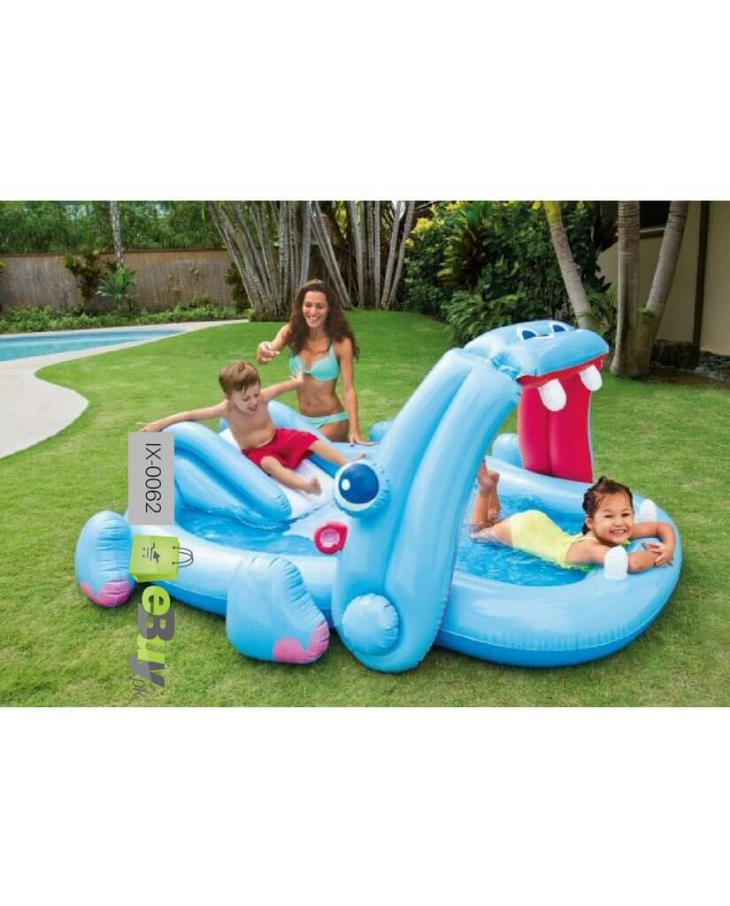 Buy Intex Inflatable Hippo Play Centre Paddling Pool In Pakistan