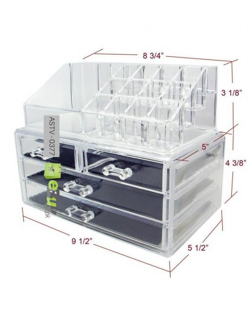 Jewellry & Cosmetic Acrylic Storage Box Online in Pakistan