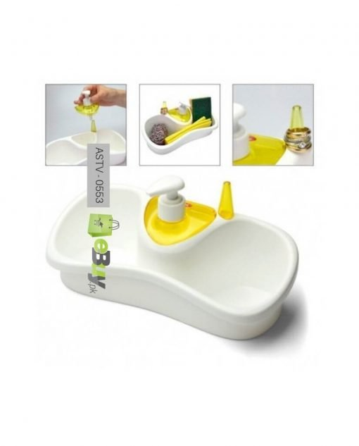 Kitchen Soap Dispenser With Sponge Holder At Best Price In Pakistan