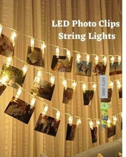 LED Photo Clips String Lights for Decoration at Best Price in Pakistan