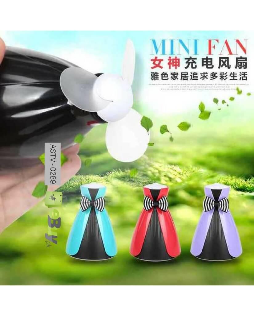 Ladies Portable Rechargeable Fan