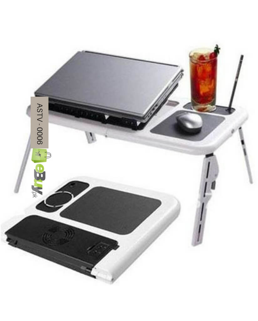 Buy laptop cooler fans and flexible portable table in for Table pliable