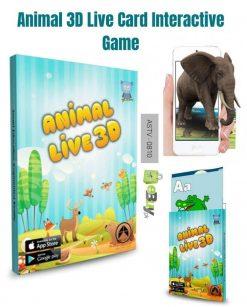 Live 3D Flash Cards For Kids