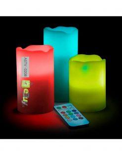 Buy Luma LED Candles - Pack Of 3 Online in Pakistan - eBuy.pk