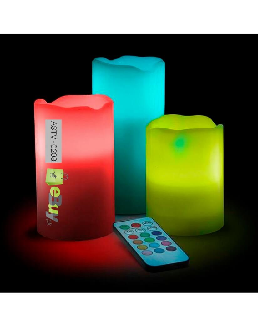 Buy luma led candles pack of 3 online in pakistan for Candele on line