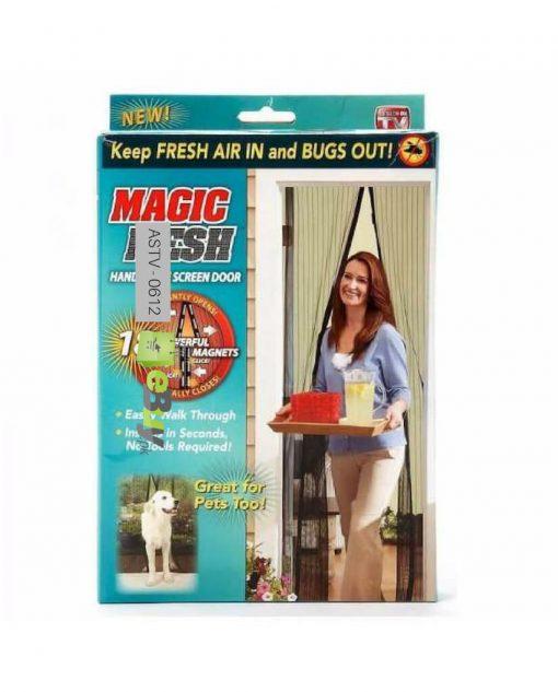 Magic Mesh Magnetic Screen Door At Best Price In Pakistan 5