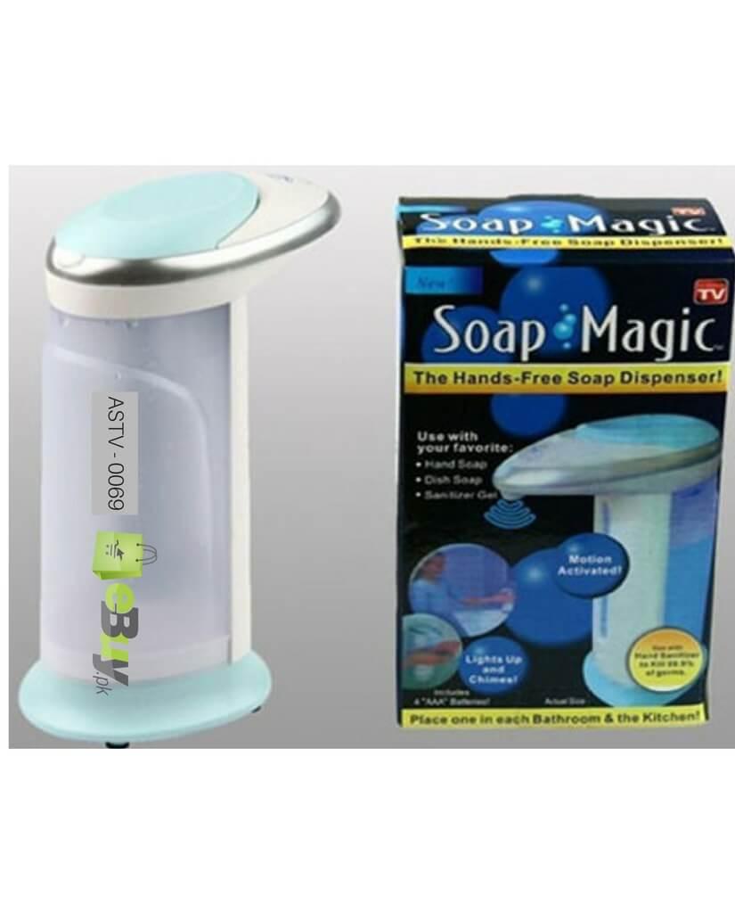 buy magic soap dispenser online shopping in pakistan. Black Bedroom Furniture Sets. Home Design Ideas