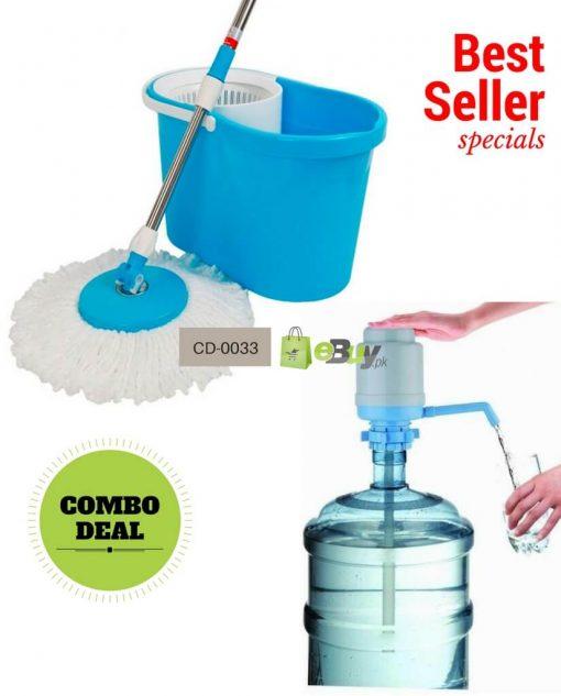 Magic Spin Mop & Water Pump Online in Pakistan