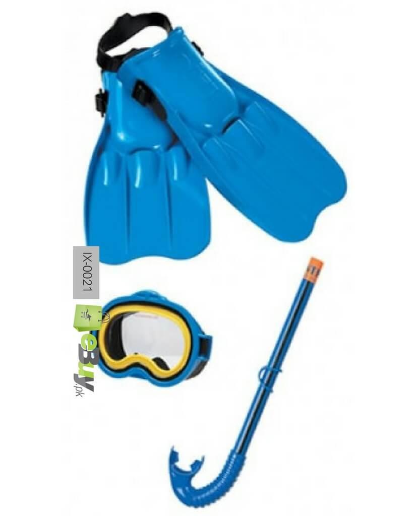 cb14b8b6fb6 Buy Master Class Swim Set Mask Snorkel   Fins in Pakistan - eBuy.pk