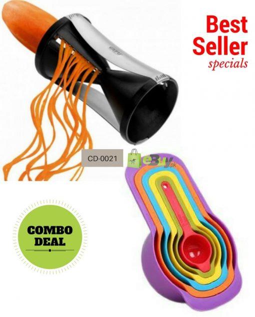 Measuring Spoons & Spiral Slicer Online in Pakistan
