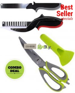 Mighty Shears Kitchen Scissor & Clever Cutter in Pakistan