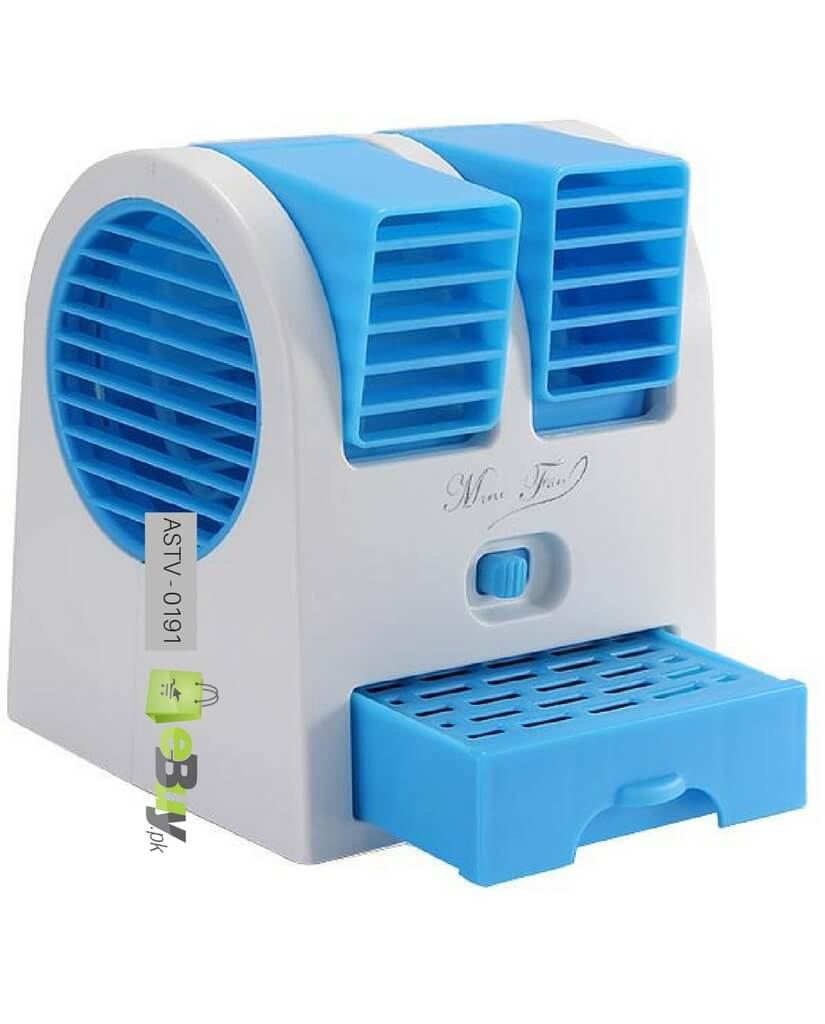 Buy Mini Fan Air Conditioner Double Window Online In