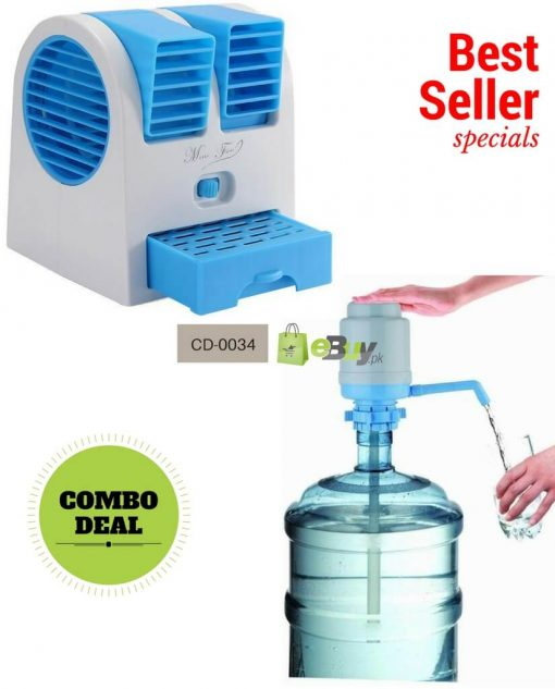 Mini Fan Double Window & Water Pump Online in Pakistan