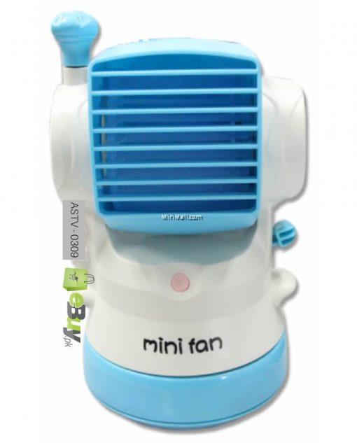Mini Fashion Fan With Water Spray Online in Pakistan