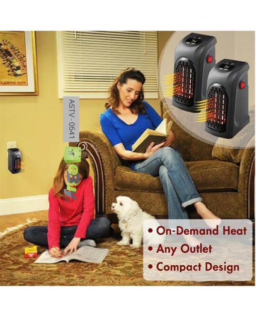 Mini Personal Plug-In Heater At Best Price In Pakistan 4