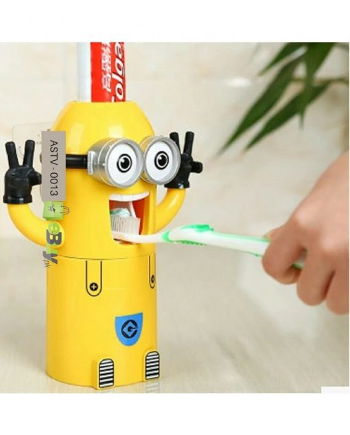 Minions Cartoon Toothpaste Dispenser in Pakistan 3