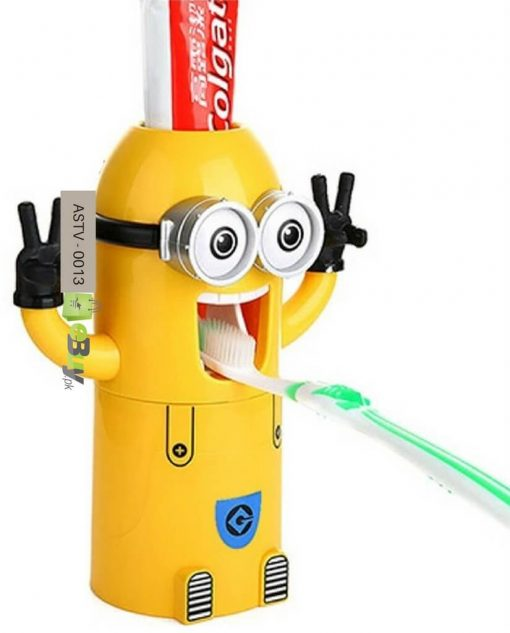 Minions Cartoon Toothpaste Dispenser in Pakistan