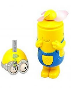 Minions Rechargeable Portable Fan - Pack Of 2 5