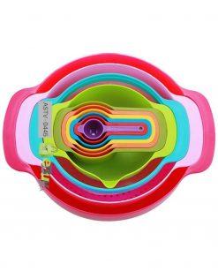 Multi-Function Rainbow Bowl 10 Piece Set Price in Pakistan