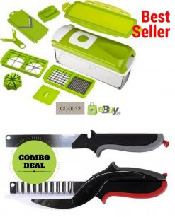 Nicer Dicer & Clever Cutter 3 in 1 Online in Pakistan