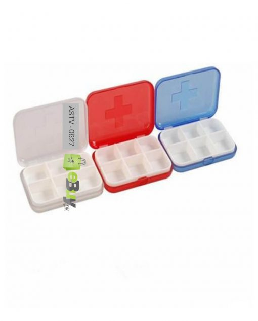 Pill Box 6 Slots (Pack Of 2) At Best Price In Pakistan 2