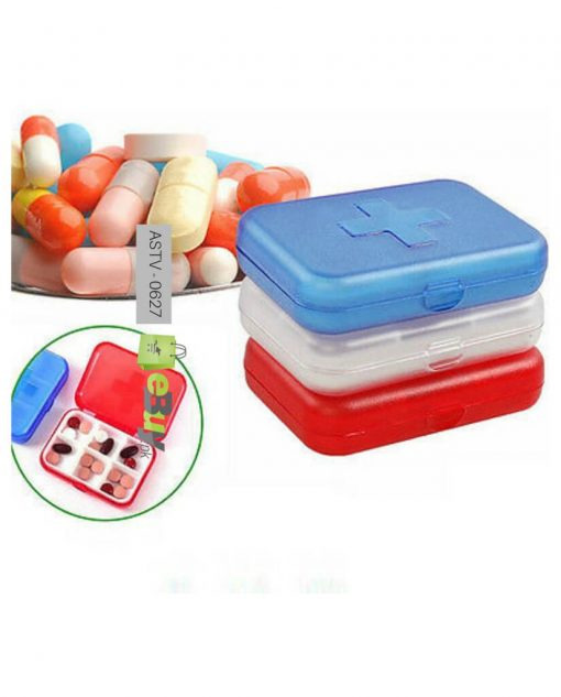 Pill Box 6 Slots (Pack Of 2) At Best Price In Pakistan 3