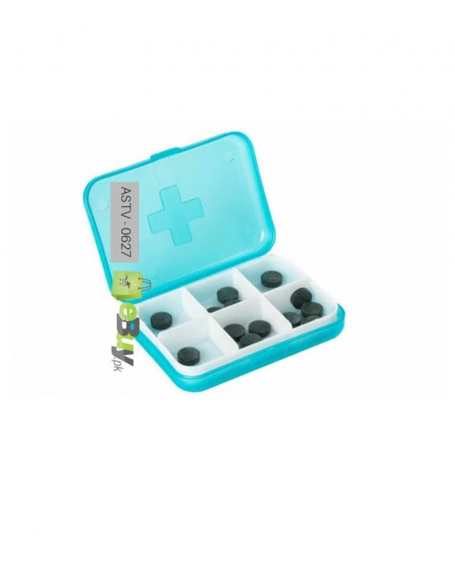 Pill Box 6 Slots (Pack Of 2) At Best Price In Pakistan
