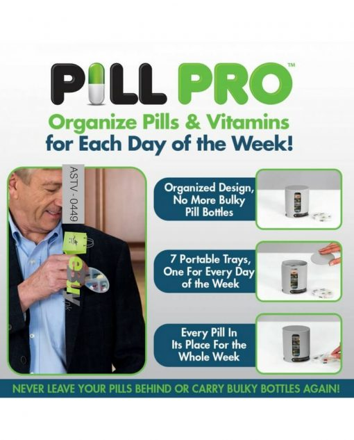 Pill Pro Medicine Organizer At Best Price in Pakistan