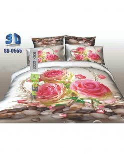 Pink Roses 3D Bed Sheets At Best Price In Pakistan