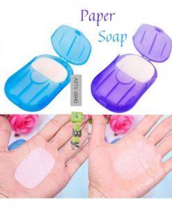 Portable Mini Paper Soap Disposable online in Pakistan