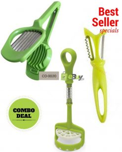 Potato Masher, Egg Slicer & Vegetable Peeler in Pakistan