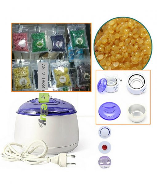Pro-Wax 100 + Hair Removing Hard Beans (300 Gm) At Best Price In Pakistan