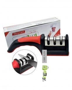 Professional 3-Stage Manual Ceramic Knife Sharpener online at best price in Pakistan