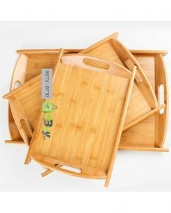 Rectangular Bamboo Tray (Pack Of 3) At Best Price In Pakistan