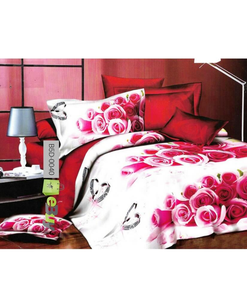 Bed Sheets Red Roses
