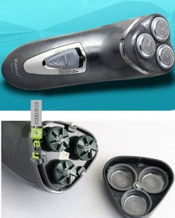 Rotary Rechargeable Shaver KM-890 Online in Pakistan 2