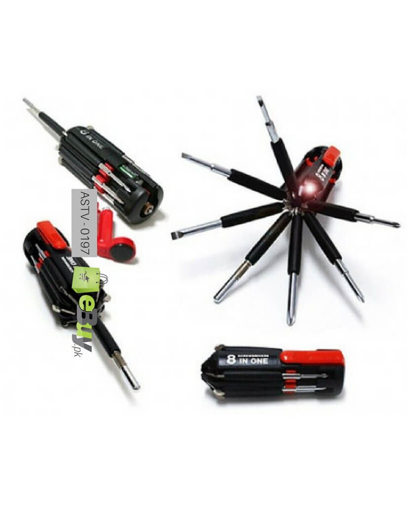 buy screwdriver set 8 in 1 online in pakistan. Black Bedroom Furniture Sets. Home Design Ideas