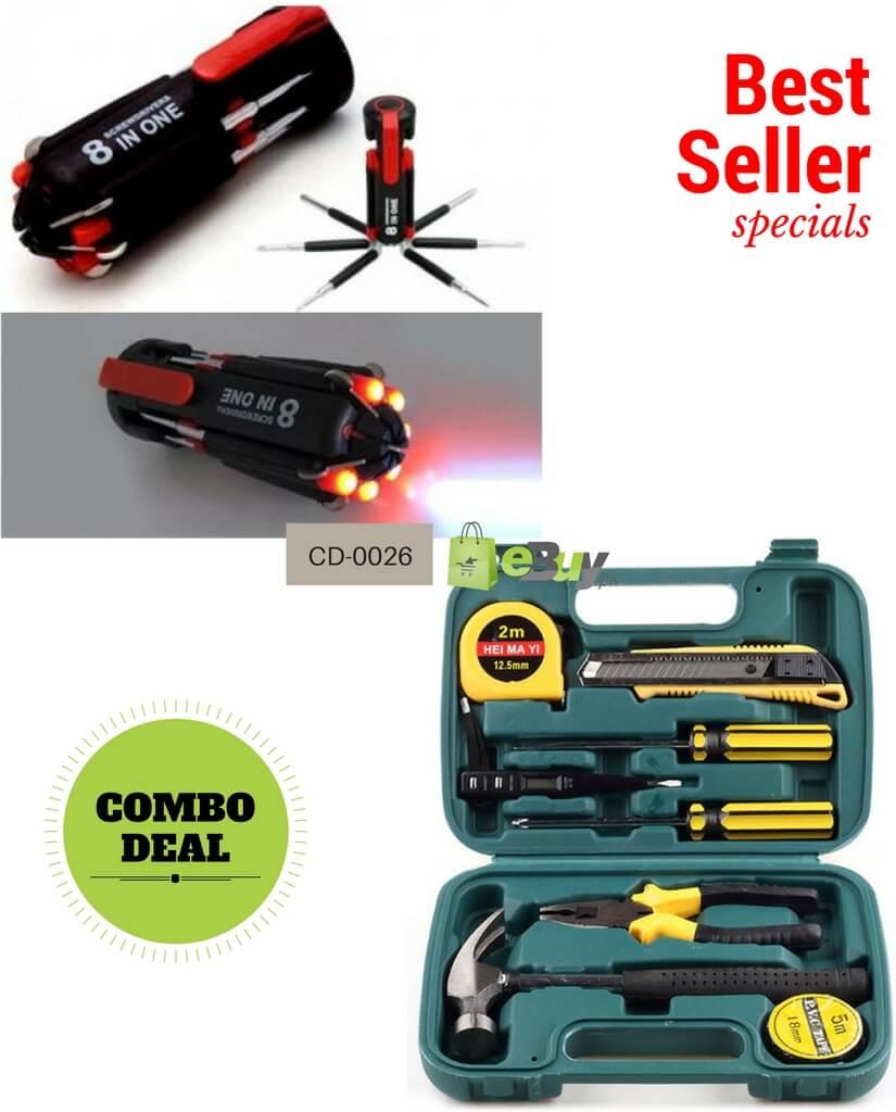 buy screwdriver set tool set 09 pieces online in pakistan. Black Bedroom Furniture Sets. Home Design Ideas